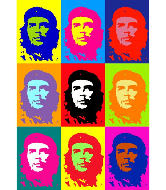 Andy Warhol - Che Guevara. Stampa su tela