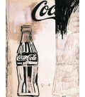 Andy Warhol - Coca Cola 1960. Printing on canvas