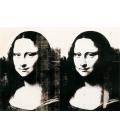Andy Warhol - Double Monna Lisa. Stampa su tela