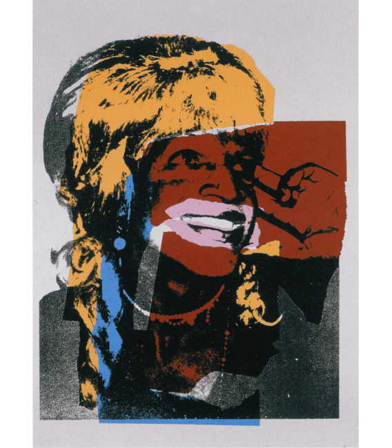 Andy Warhol - Dick Tracy American Painting. Printing on canvas