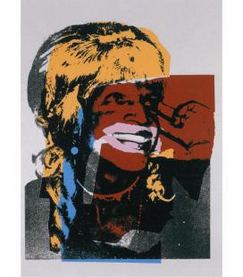 Andy Warhol - Ladies and Gentlemen 1975. Stampa su tela