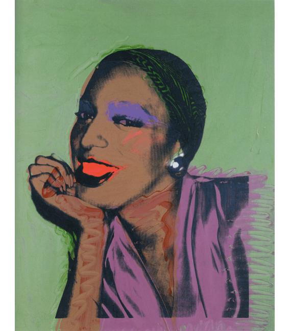 Andy Warhol - Ladies and Gentlemen. Stampa su tela