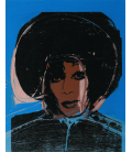 Andy Warhol - Ladies and Gentlemen. Stampa su tela