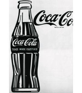Andy Warhol - Large Coca Cola. Stampa su tela