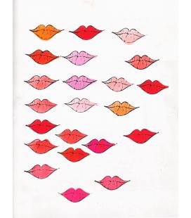 Andy Warhol - Lips. Stampa su tela