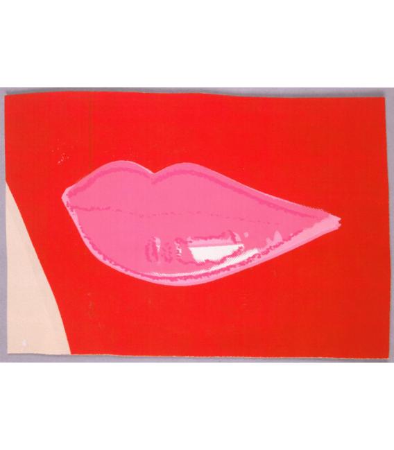 Andy Warhol - Lips III. Stampa su tela