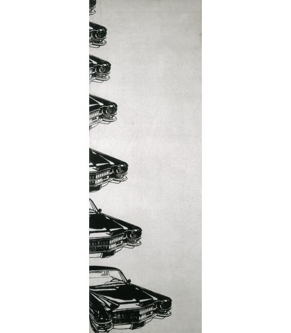Andy Warhol - Seven Cadillacs. Stampa su tela