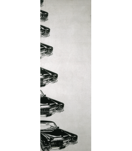 Andy Warhol - Seven Cadillacs. Printing on canvas