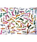 Andy Warhol - Stamped Shoes. Stampa su tela