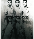 Andy Warhol - Triple Elvis. Stampa su tela