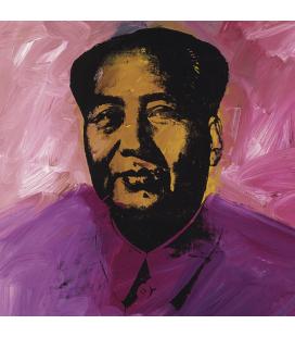 Andy Warhol - Mao, firmato e datato. Stampa su tela