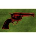 Andy Warhol - Gun. Stampa su tela