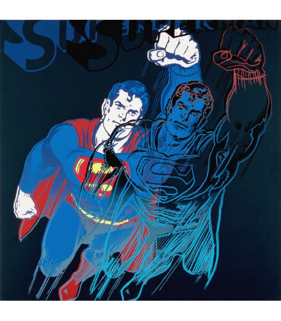 Andy Worhol - Superman. Stampa su tela