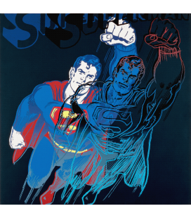 Andy Warhol - Superman. Printing on canvas
