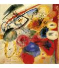 Vassily Kandinsky - The Black Line. Printing on canvas