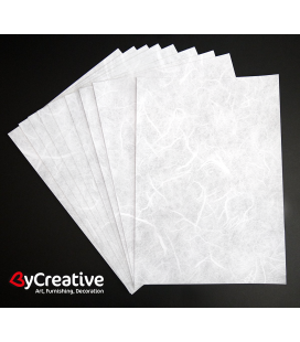 Rice paper sheets printable - Light - A4