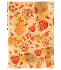 Decoupage rice paper: Love roses