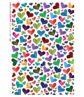 Decoupage rice paper: Country Heart multicolour