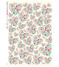 Decoupage rice paper: Delicate Hearts