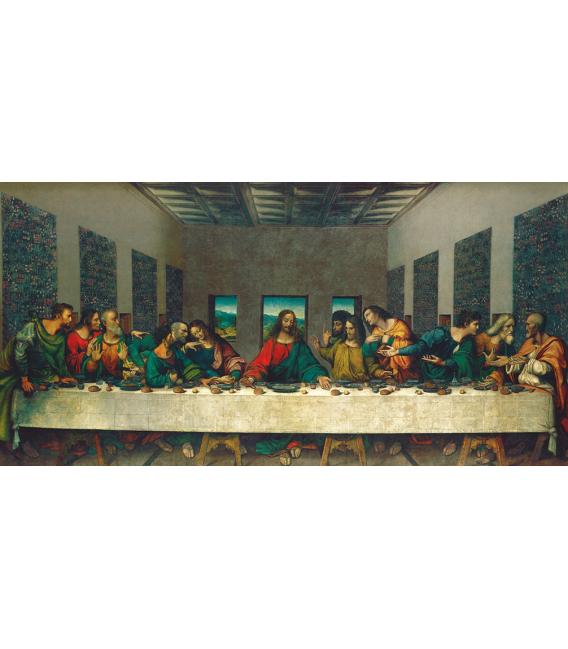 Stampa su tela: Leonardo da Vinci - Ultima Cena