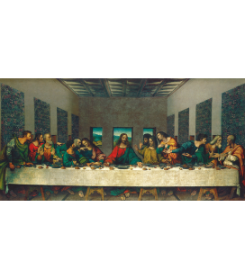 Printing on canvas: Leonardo da Vinci - Last Supper