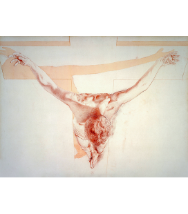 Salvador Dalì - The Ascension of Christ. Print on canvas