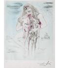 Salvador Dalì - Kronos. Print on canvas
