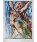 Salvador Dalì - La donna cavallo. Stampa su tela