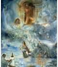 Salvador Dalì - Il Consiglio Ecumenico. Stampa su tela