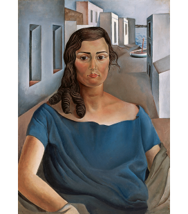 Salvador Dalì - Portrait of my sister. Print on canvas