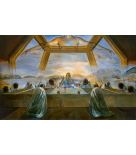 Salvador Dalì - Last Supper. Print on canvas