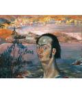 Salvador Dali - Self-portrait. Print on canvas