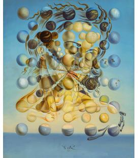Salvador Dalì - Galatea delle Sfere . Stampa su tela