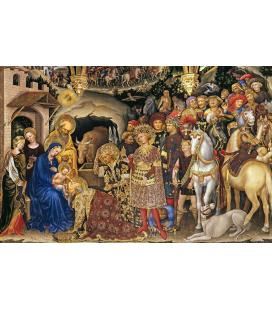 Gentile da Fabriano - Adoration of the Magi. Print on canvas