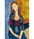 Amedeo Modigliani - Jeanne Hebuterne. Print on canvas