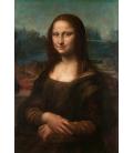 Leonardo Da Vinci. Mona Lisa La Gioconda. Printing on canvas