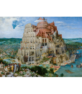 Pieter Bruegel the Elder - The Tower of Babel. Printing on canvas