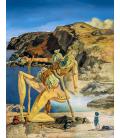 Salvador Dalì - Lo spettro del sex appeal. Stampa su tela