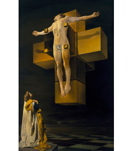 Salvador Dalì - Crucifixion. Print on canvas