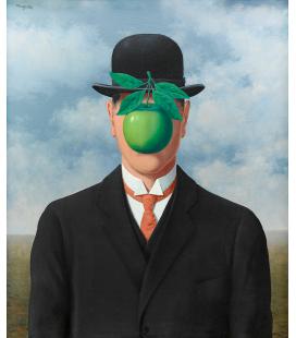 Magritte René - La grande guerra. Stampa su tela