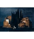 Arnold Bocklin - L'isola dei morti. Stampa su tela
