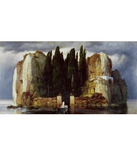 Arnold Bocklin - L'isola dei morti IV. Stampa su tela