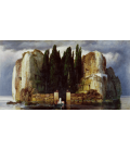 Arnold Bocklin - The island of the dead IV. Printing on canvas