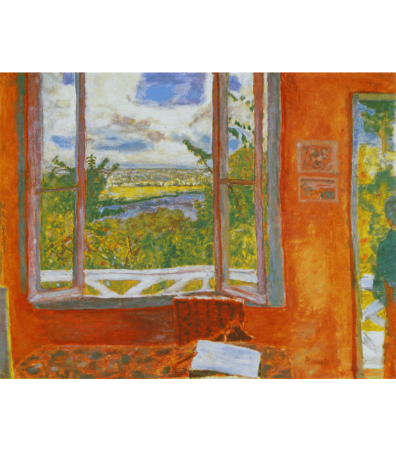 Pierre Bonnard - The Open Window. Printing on canvas
