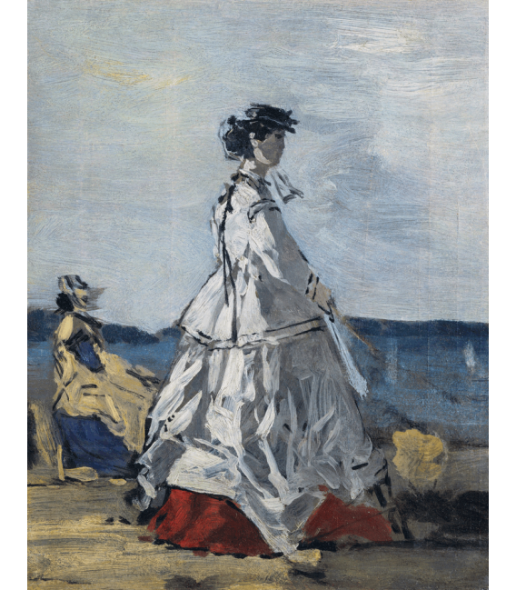Boudin Eugène - Princess Pauline. Printing on canvas