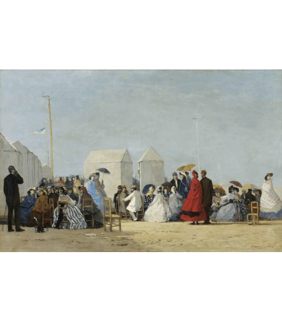 Boudin Eugène - Trouville. Printing on canvas