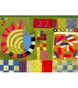 David Briggs - Life is a Gamble. Printing on canvas