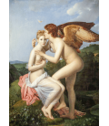 Francois Gérard - Cupid and Psyche. Printing on canvas