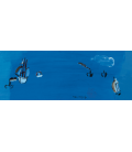Raoul Dufy - Navi verso il mare. Stampa su tela