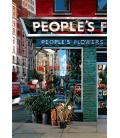 Richard Estes - People's Flowers. Printing on canvas
